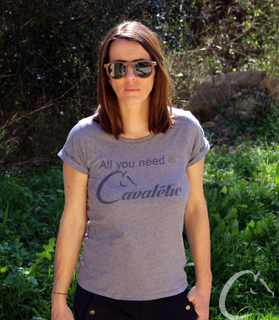 T-shirt All you need is Cavaletic