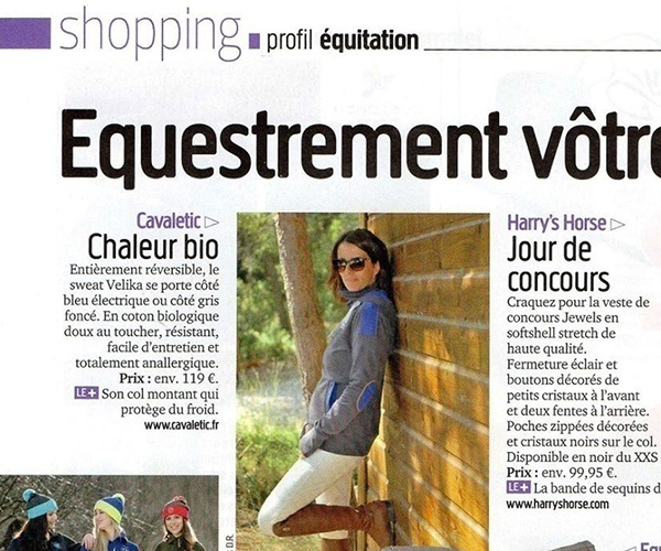 cavaletic dans le guide shopping dec15