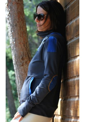 Reversible fleece jacket Velika