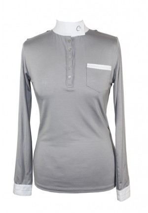 Show poloshirt with longue sleeve Vaal